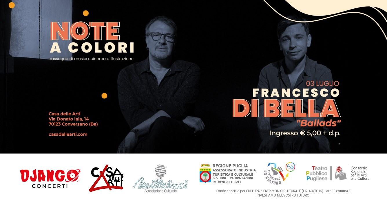 """Francesco Di Bella 24 Grana – """"Ballads"""" // 3 luglio"""