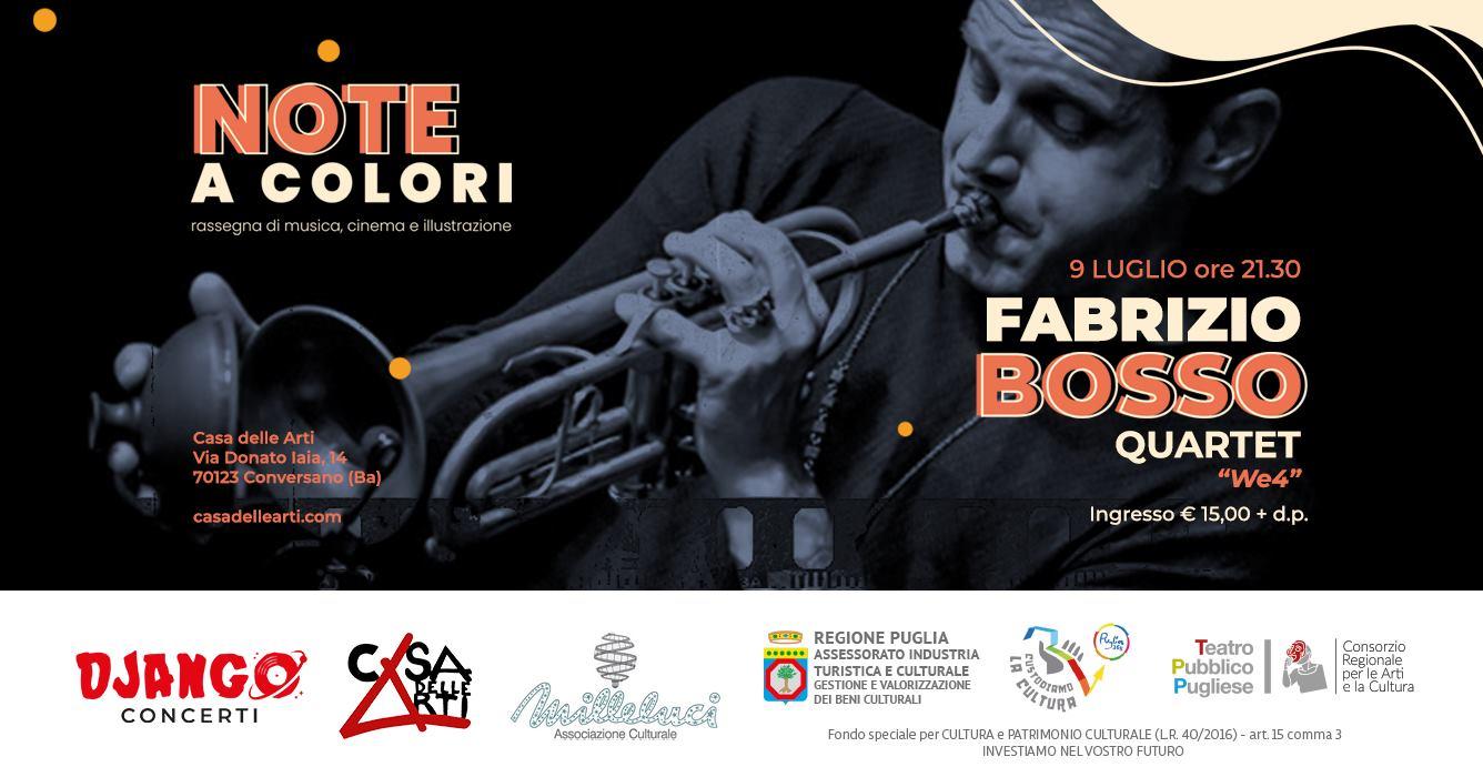 Fabrizio Bosso 4tet presenta We4 // 9 luglio