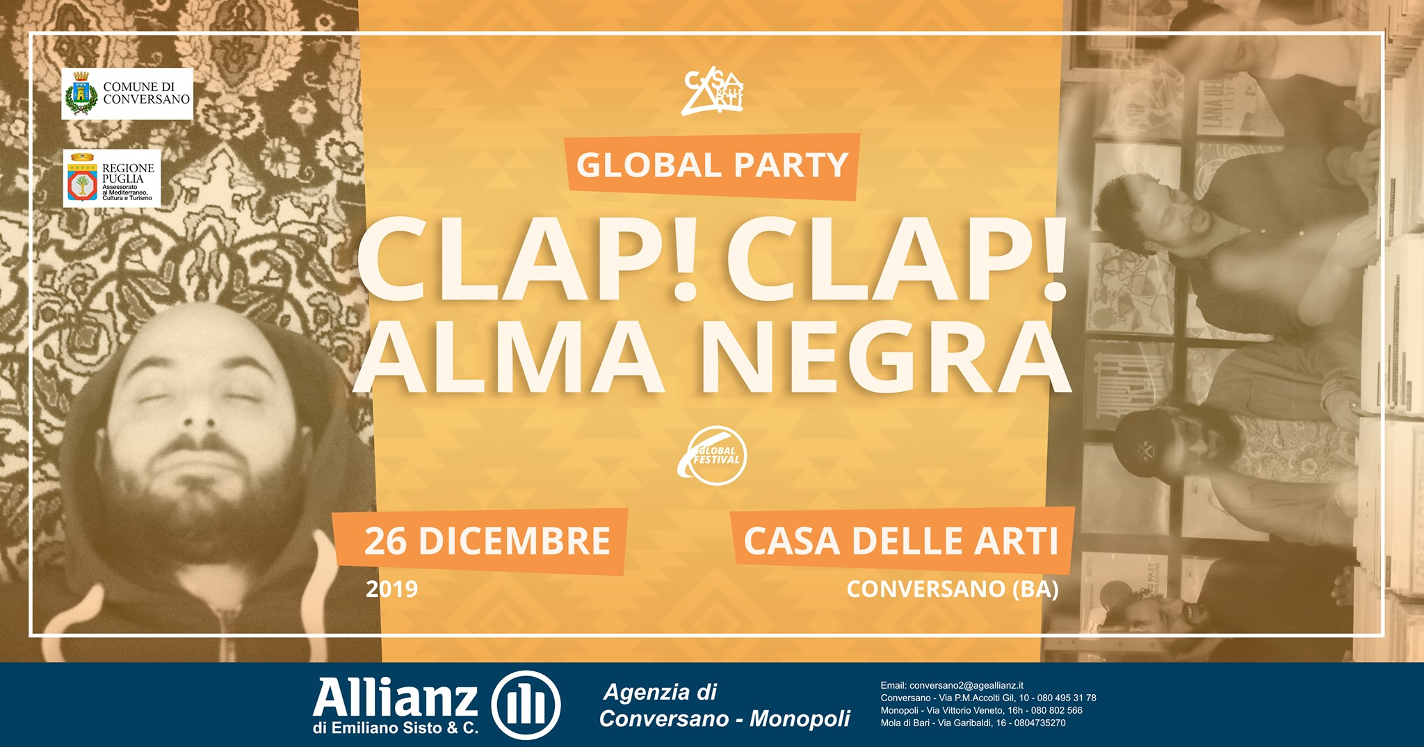 Clap!Clap! + AlmaNegra (Global Party Night)