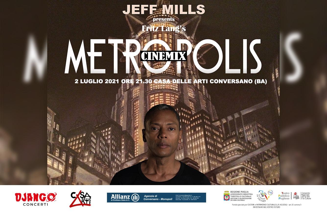 JEFF MILLS plays METROPOLIS // 2 luglio